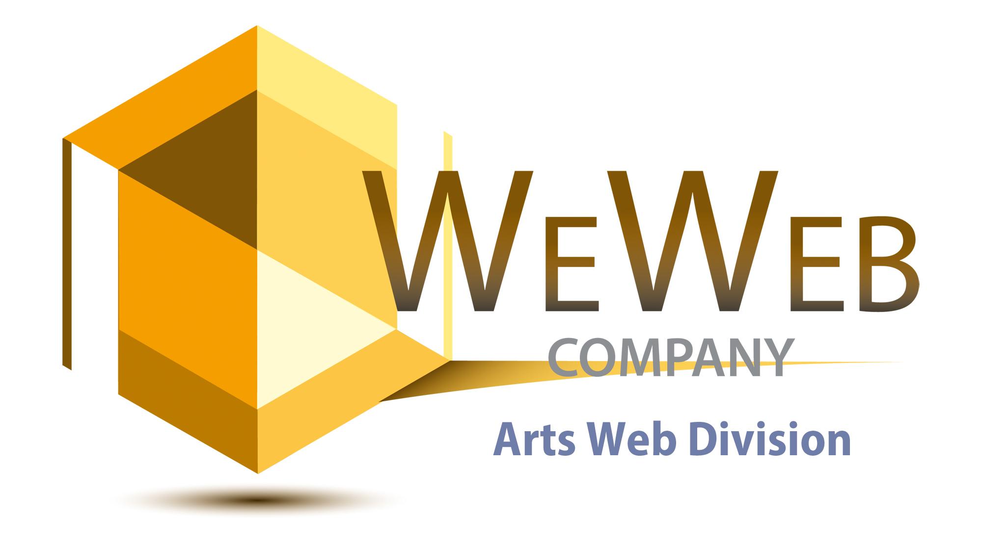 logo We Web Arts Web Division - We Web