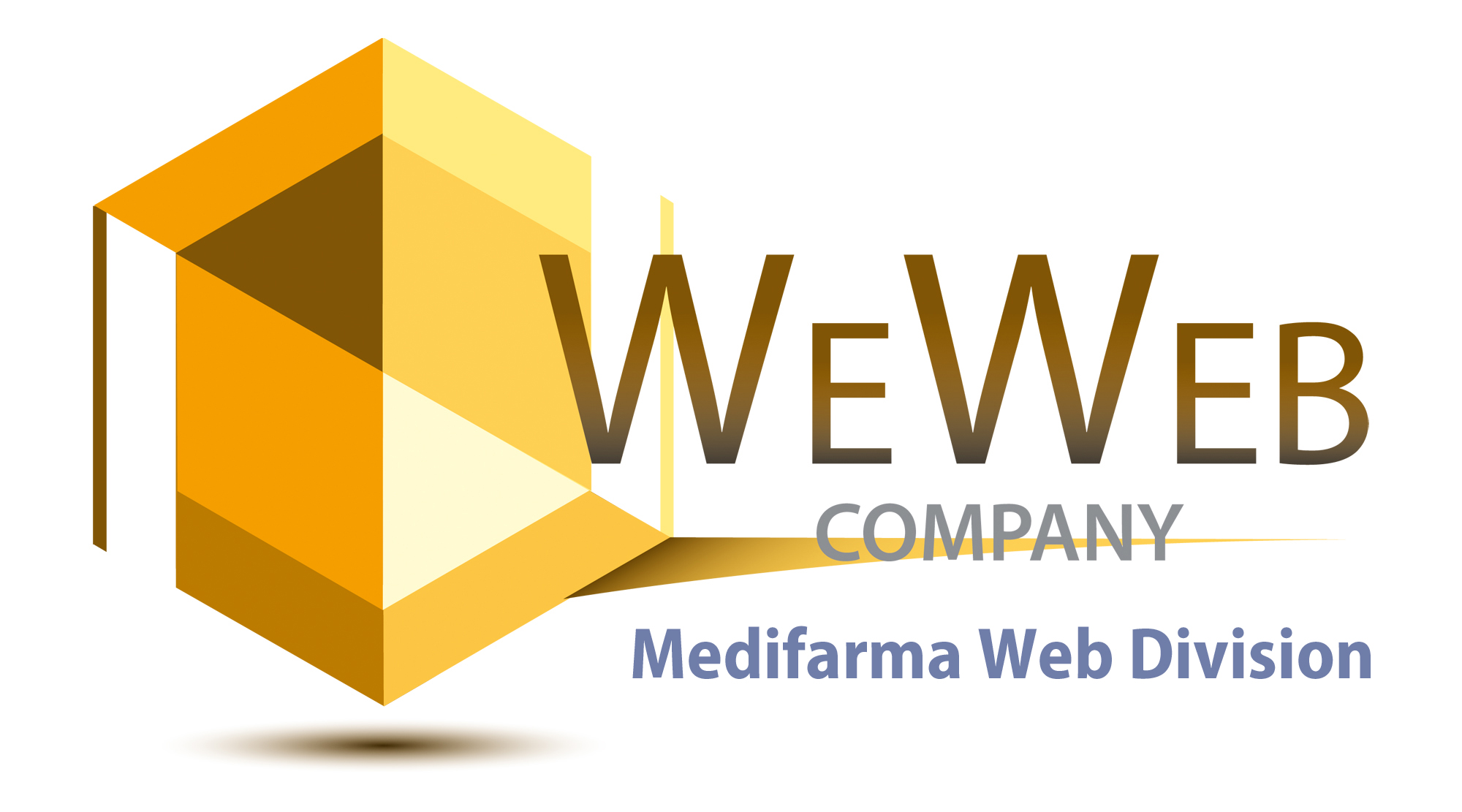 Logo We Web Medifarma Web Division - We Web Company